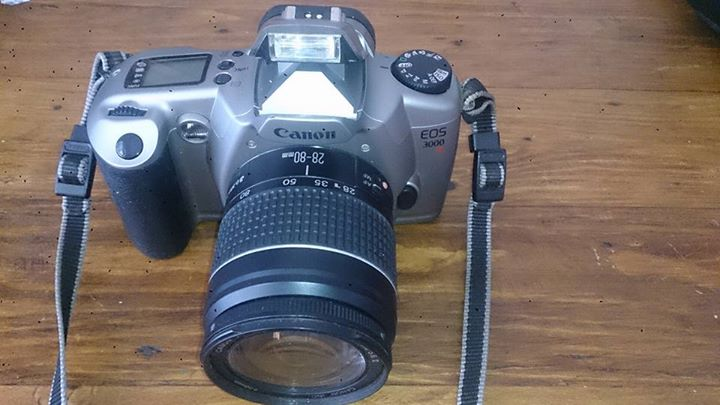 Canon EOS 3000 wet film camera