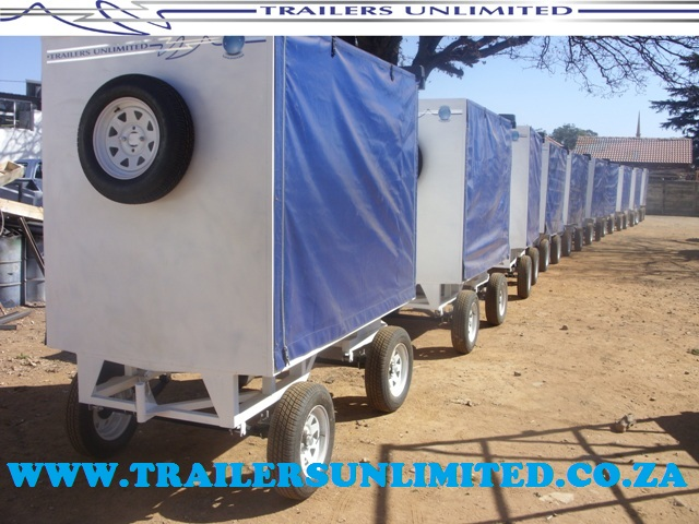 TRAILERS UNLIMITED. TROLLEYS