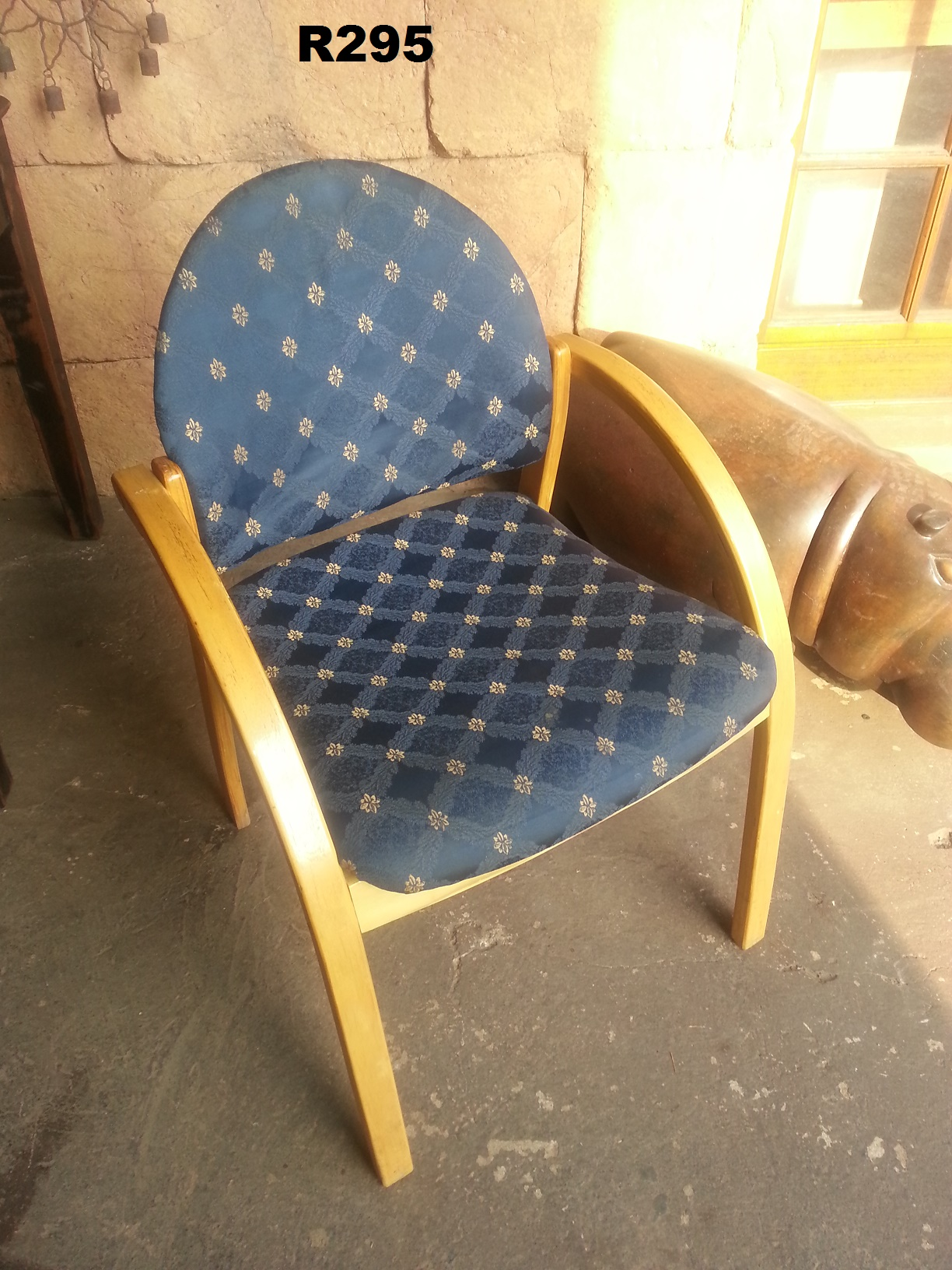 Office Chair Striped Good Condition