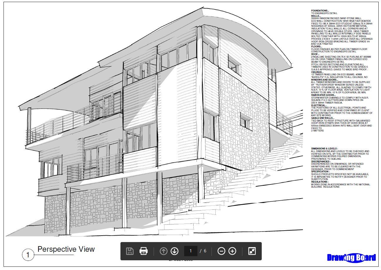 Municipal Building plans R1000