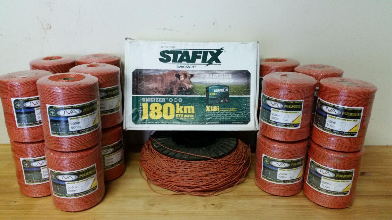 Stafix Energizer & Polywire Bundle