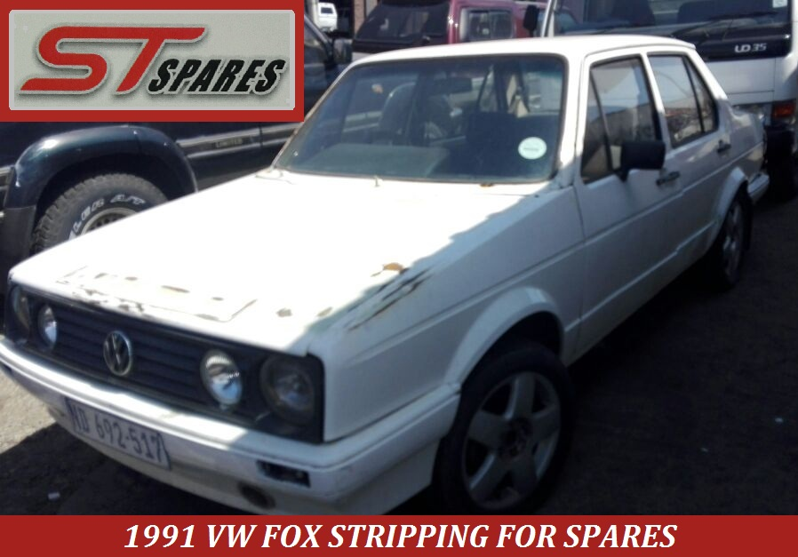 Breaking 1991 VW Fox 1800 for spares