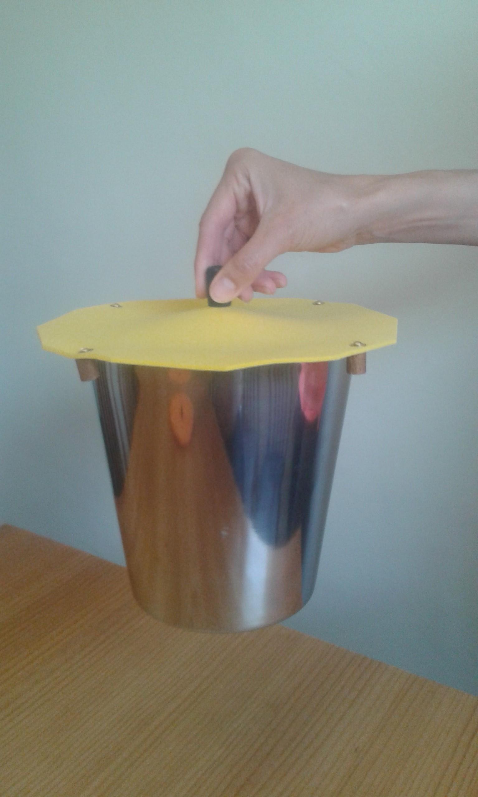Carp Bait Bucket Cover