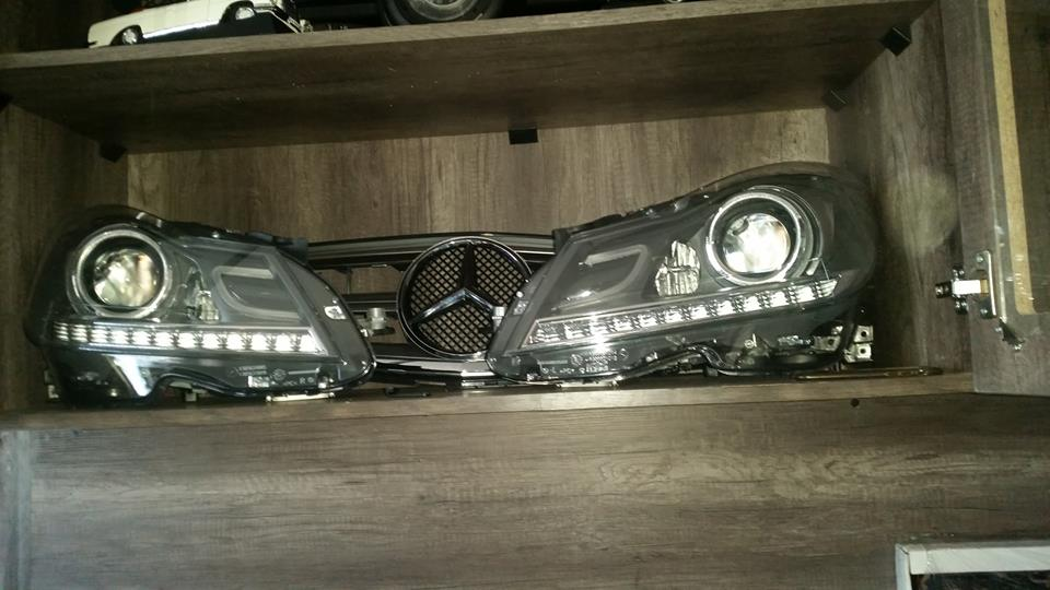 Mercedes Head Lights Available for various models