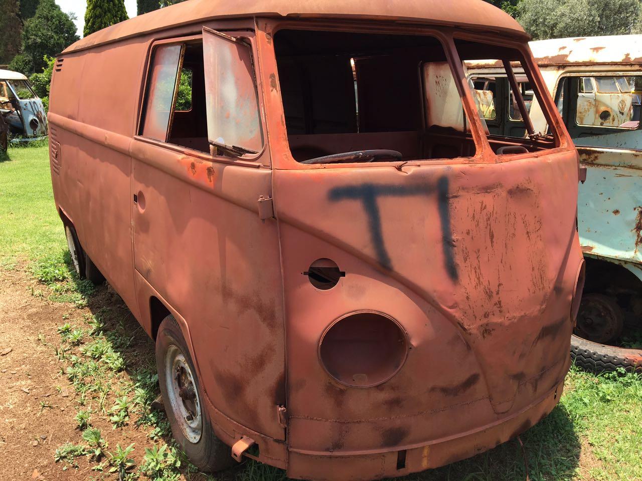 Volkswagen splitwindow panelvan kombi