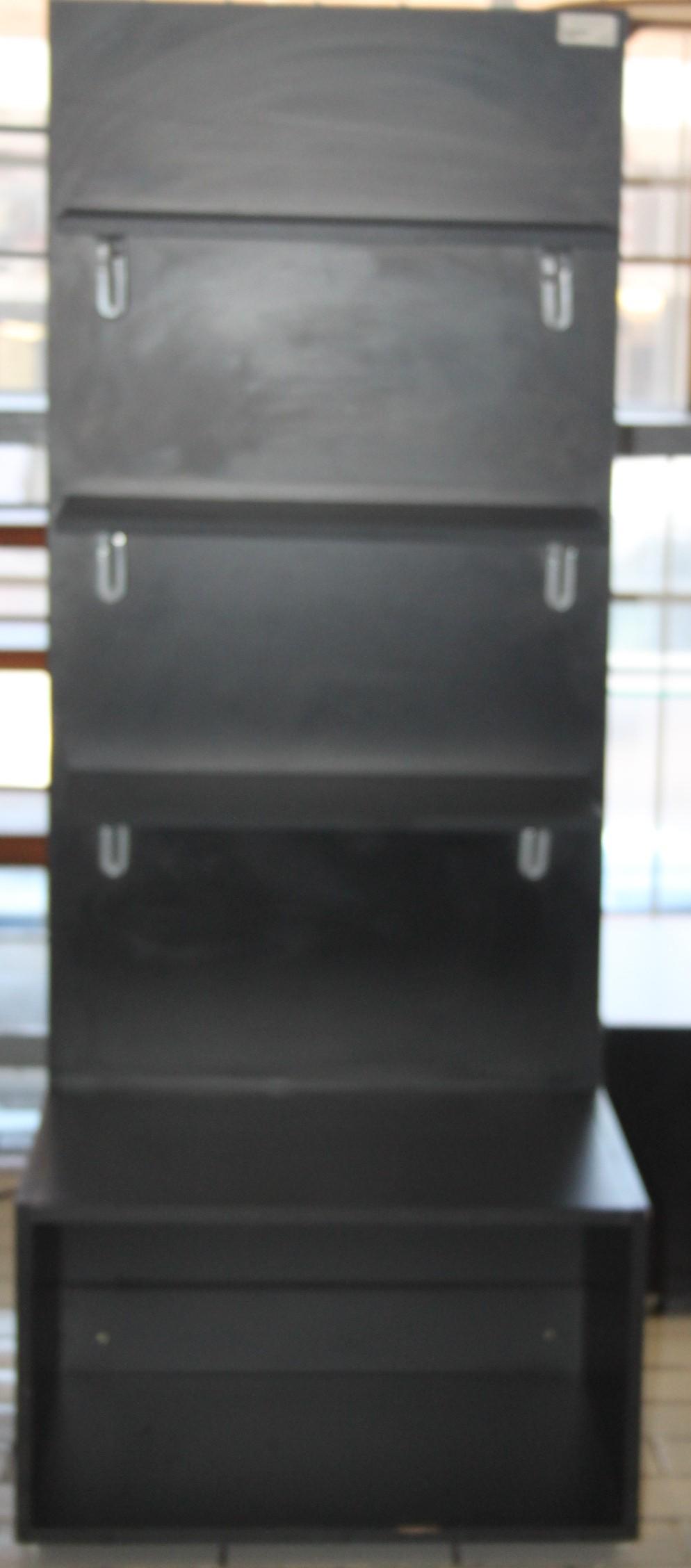 Black bookshelf S028894b #Rosettenvillepawnshop