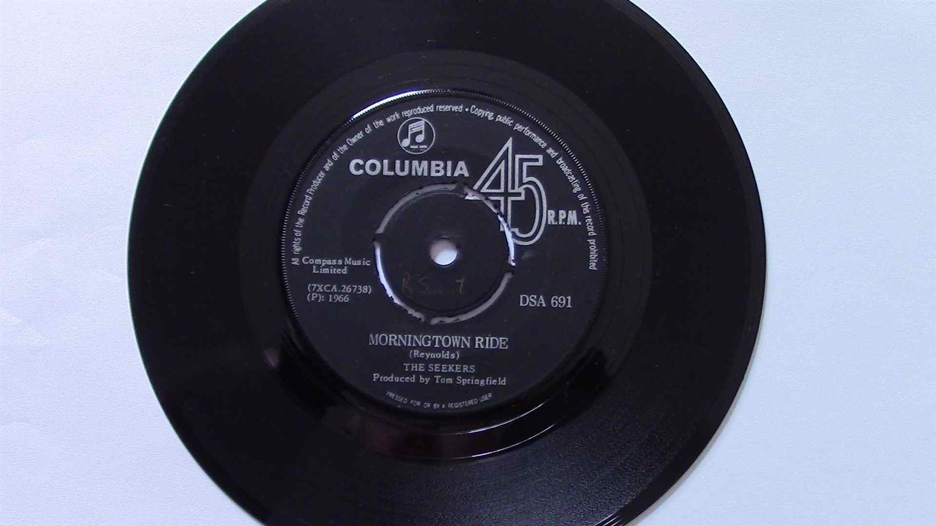 Rare Vinyl Seven Singles (41 - 50)