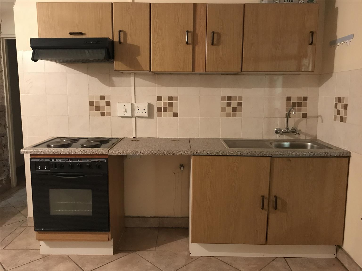 Fully built in kitchen cupboards for sale