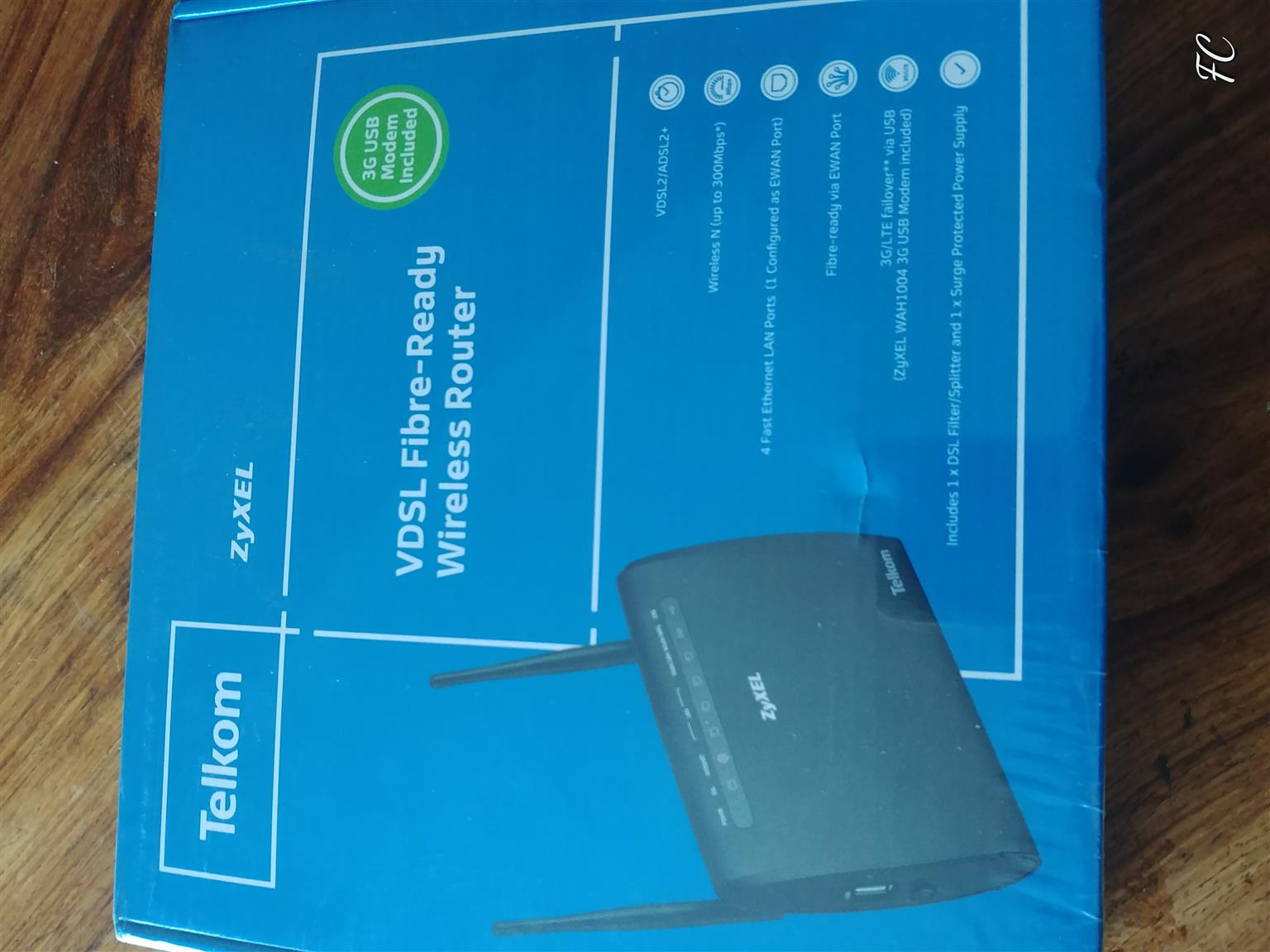 ROUTERS - Brand new, Fiber ready modems for sale , 2x Modems.