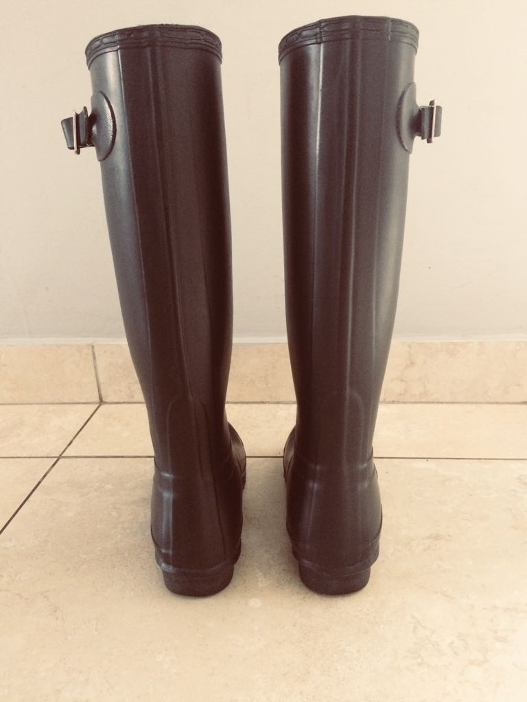 Size 3 Hunter boots for sale