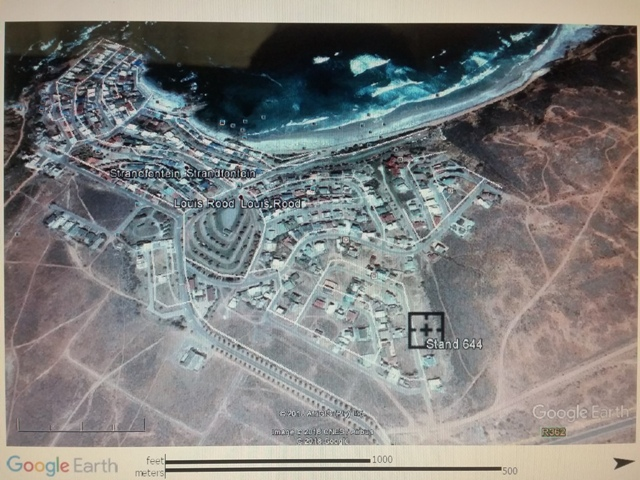 Vacant Land for sale by the West Coast, Strandfontein, Western Cape. Direct from owner, R 280 000 neg.