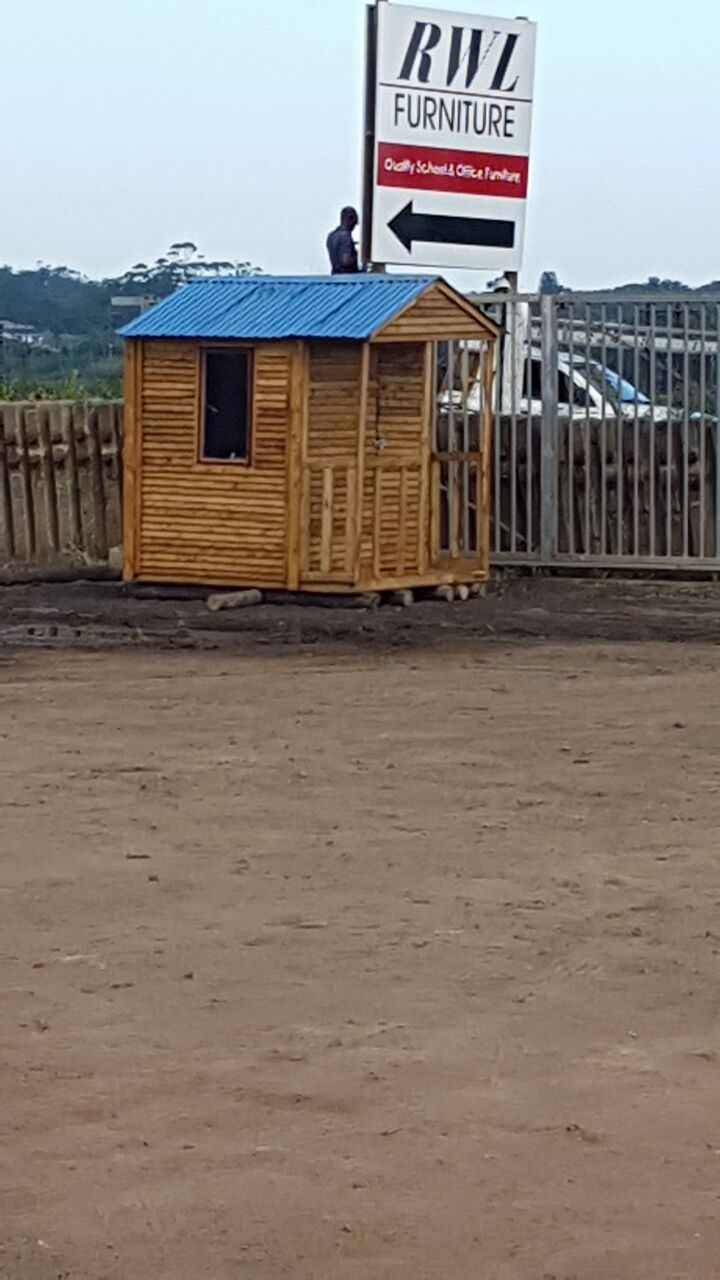 Guard huts and garden sheds