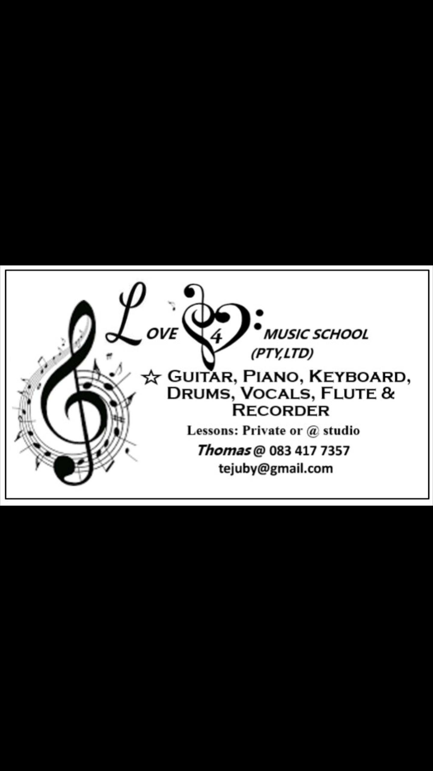 Love4Music school(Pty Ltd )