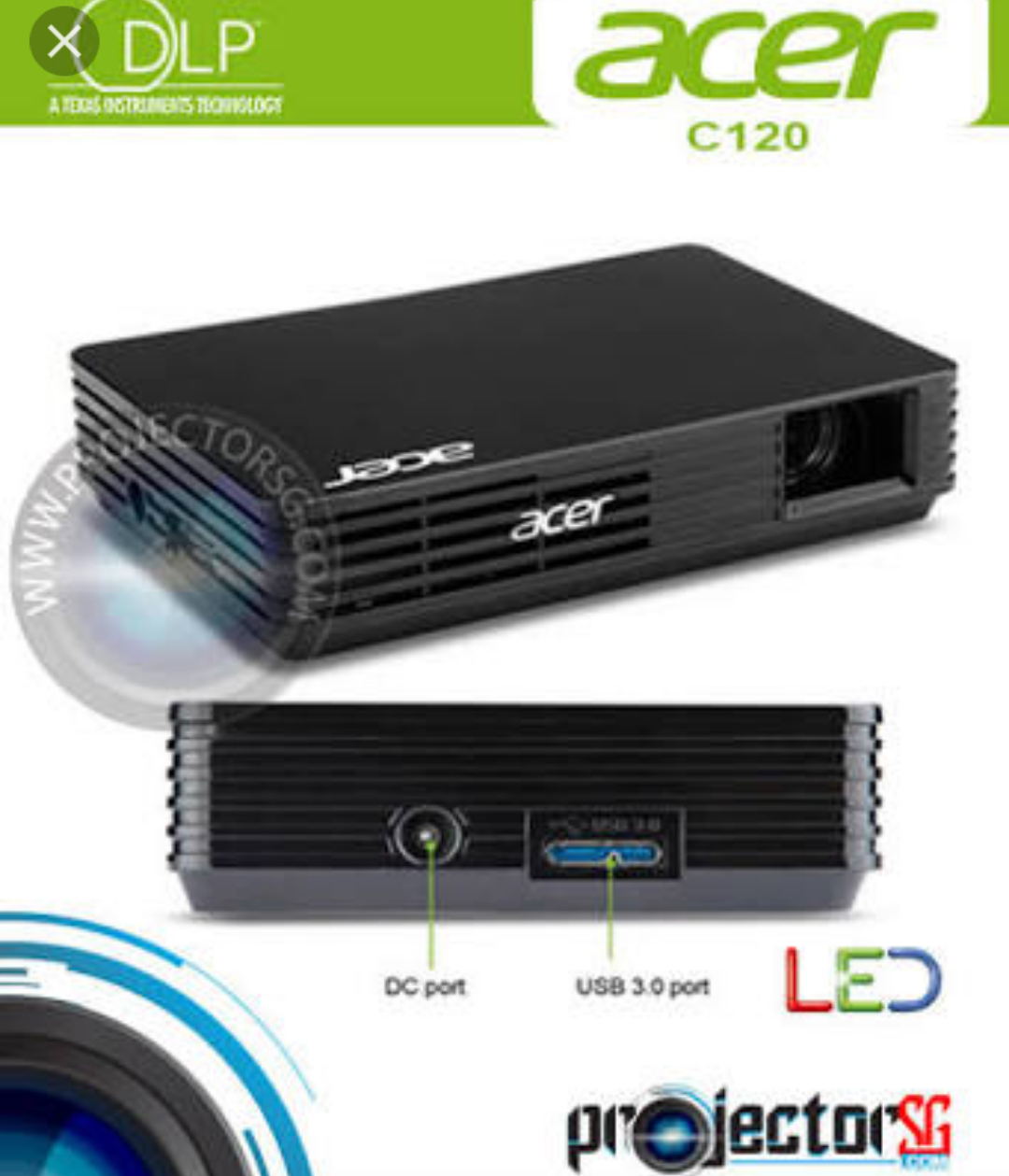 Acer led projector c120