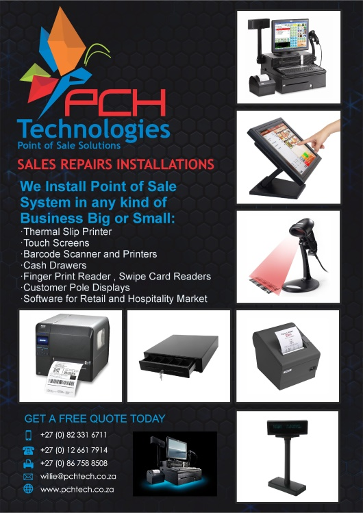 PCH Technologies - POINT OF SALE SOLUTIONS | Junk Mail