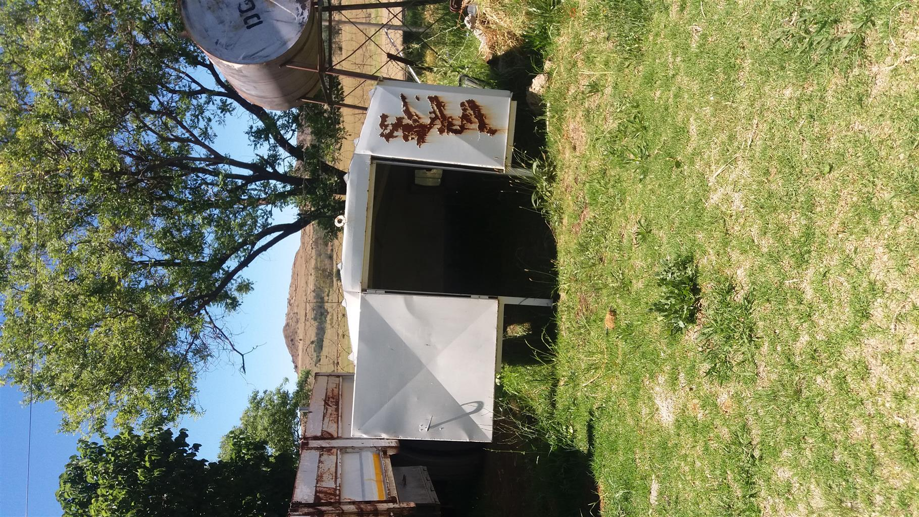 4 Ton trok staal canopy