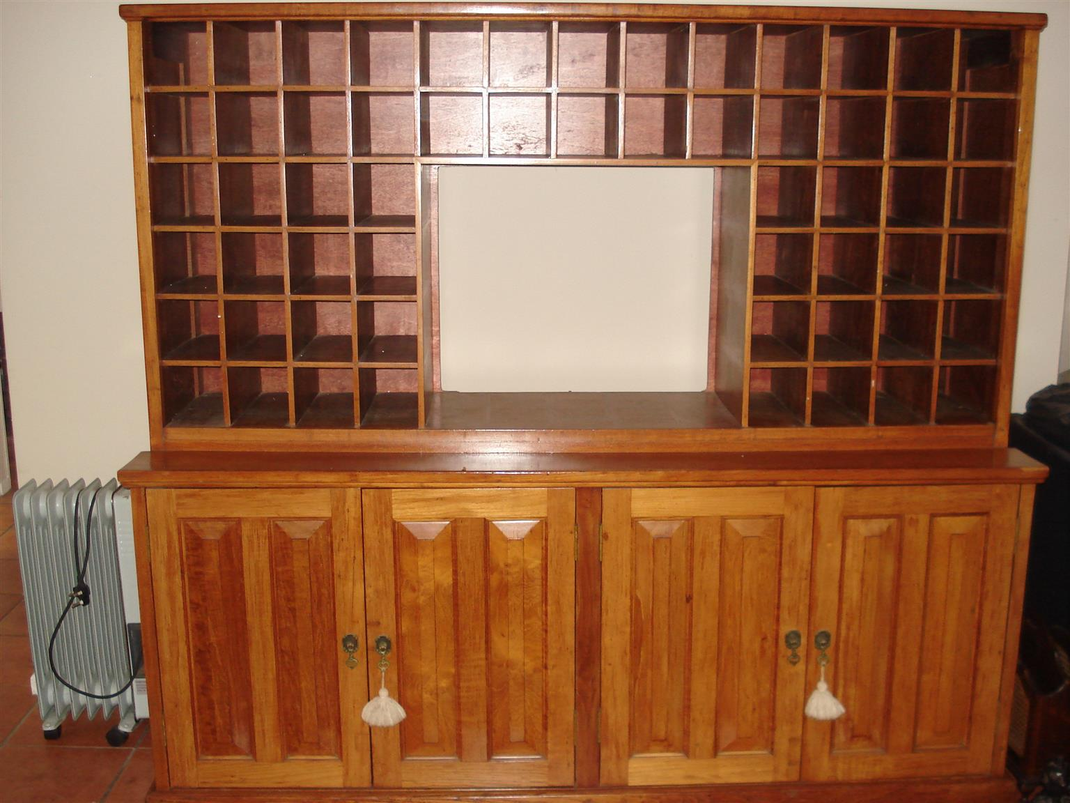 Old post office cabinet revamped