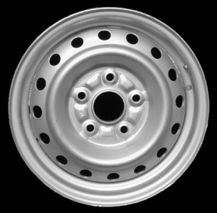 Toyota 5 holes 15 steel rim only {Set of 4} no Central Cabs for R1000.