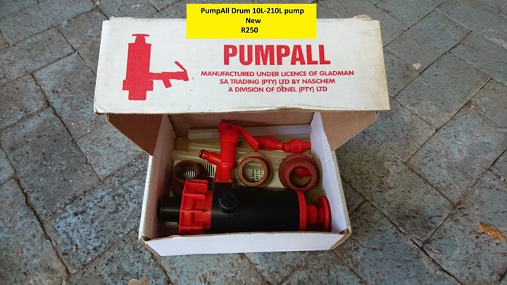 PumpAll Drum 10L-210L pump