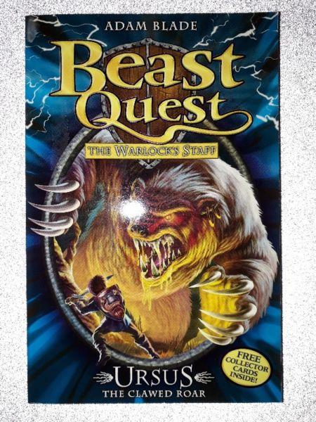 Beast Quest: The Warlock's Staff - Ursus The Clawed Roar - #49 - Adam Blade.