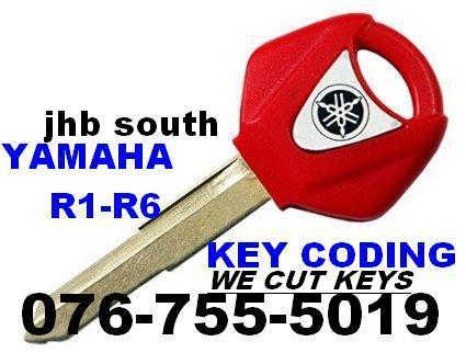 Yamaha spare keys