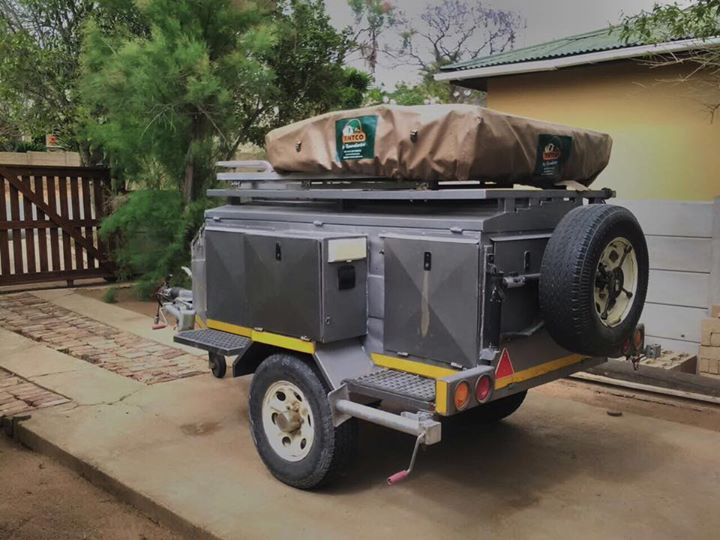 4x4 Camping trailor
