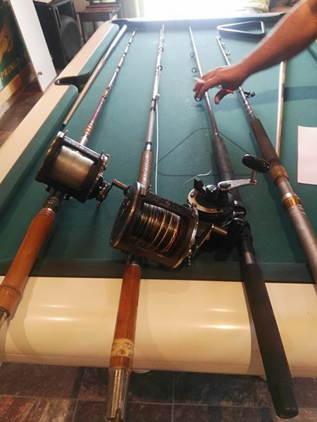 Shimano tdl25 reel and rod