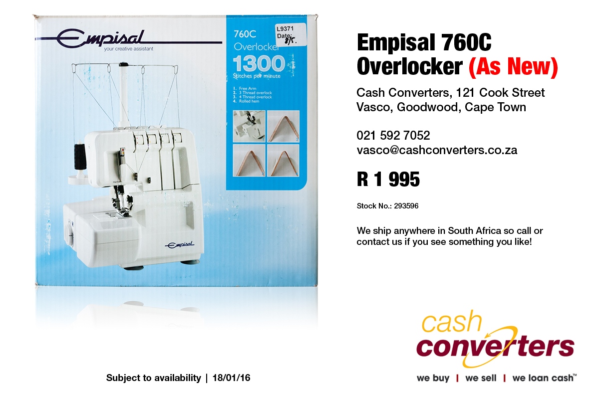 Empisal 760C Overlocker (As New)