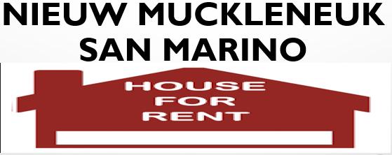 Nieuw muckleneuk San Marino house to let
