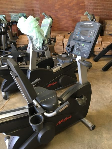 Life Fitness Integrity Recumbent Bike Junk Mail