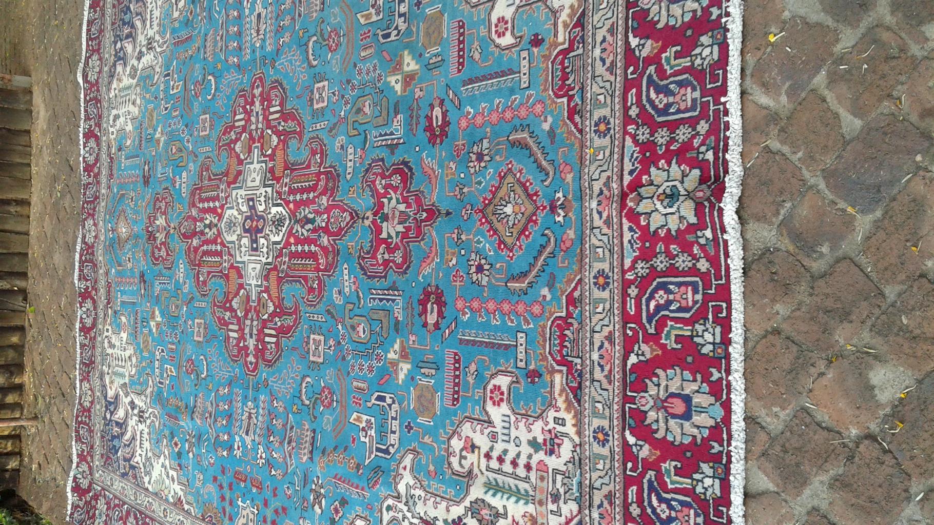 Tabriz handmade Persian carpet
