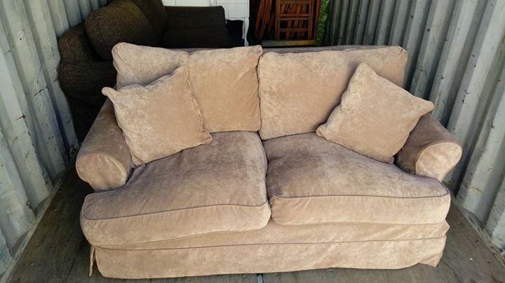 Coricraft two seater sliocover couch