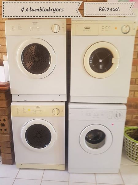Tumble driers for sale