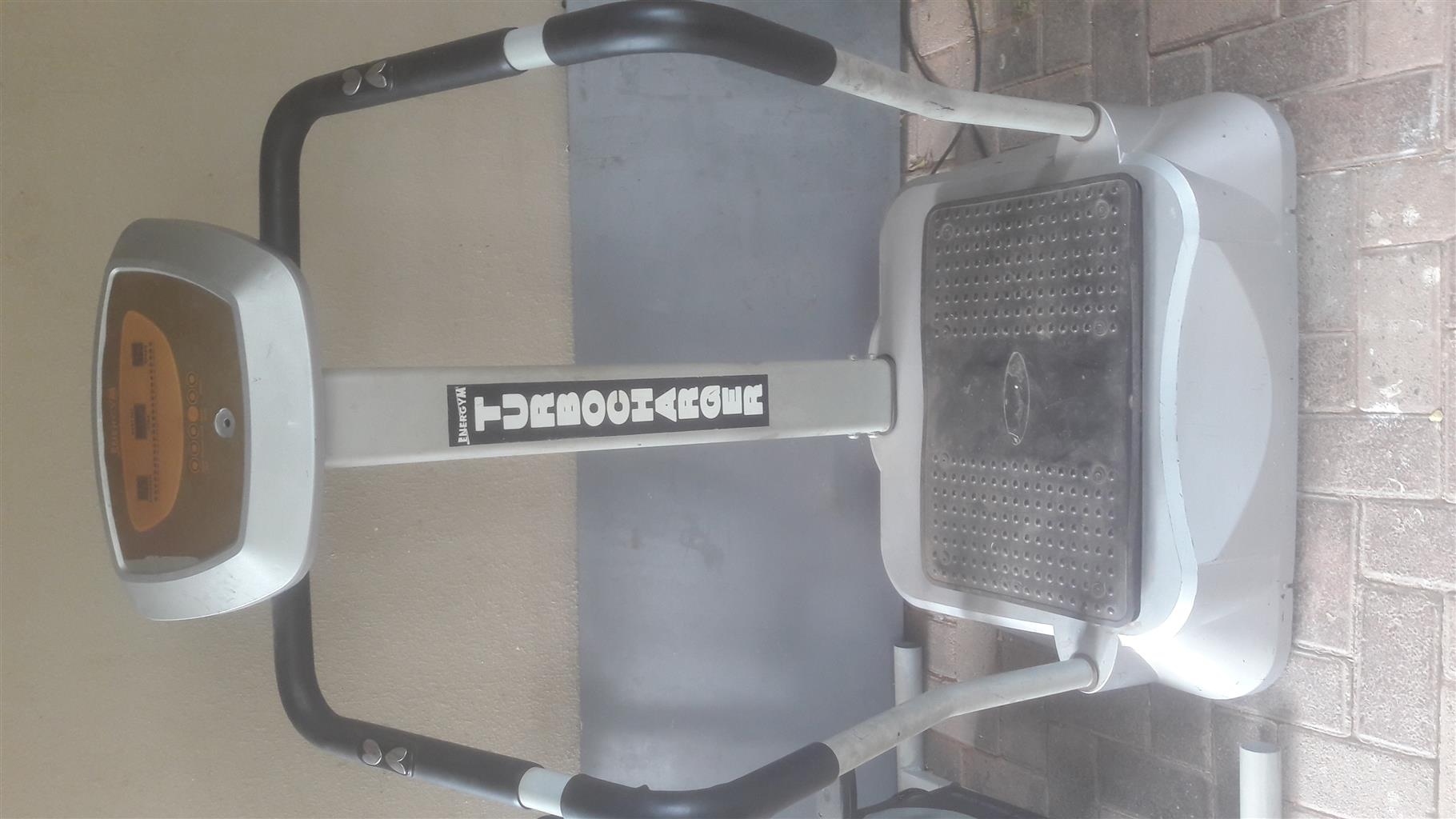 Energym fat burner and exercise bike to swap