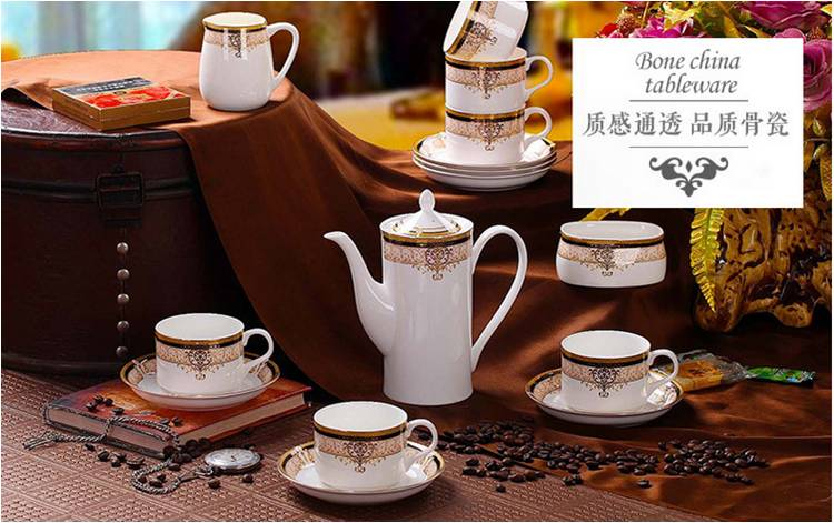 Porcelain Coffee Set for Wholesale