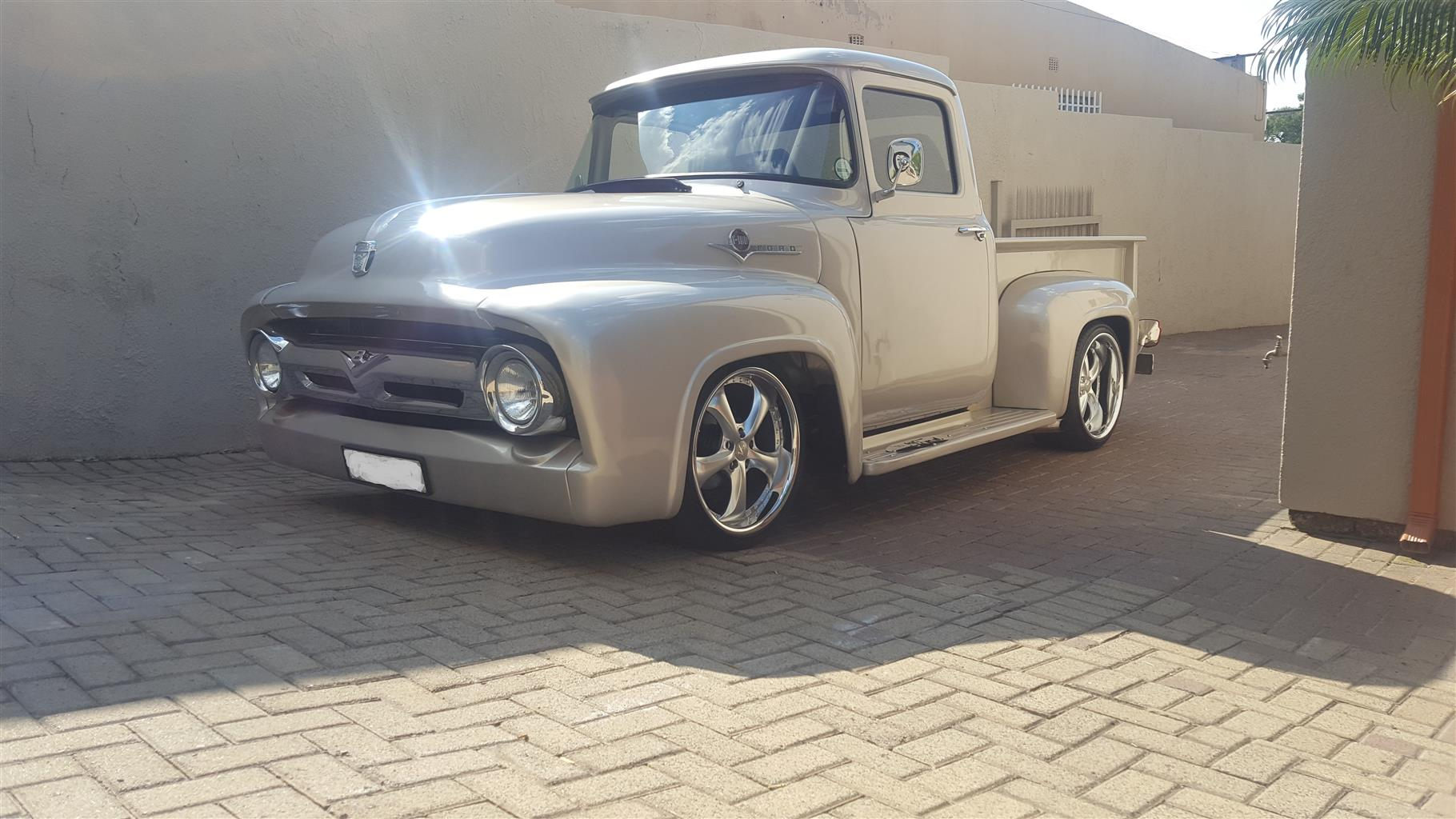 1956 V8 Ford F100 Pick Up for sale. | Junk Mail