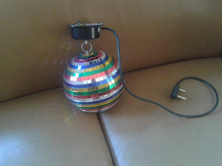 Mini disco lig te koop