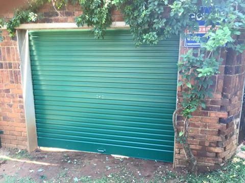 Steel Roller Type Door Kits or Installations in Johannesburg CBD