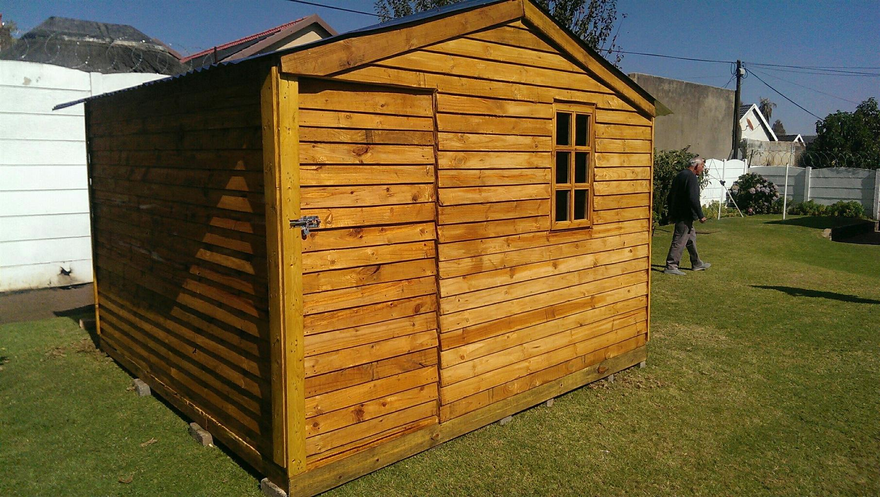 Skymax Construction : Wendy houses, tool sheds,log cabins
