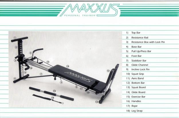 Maxxus personal Trainer. Good Condition. R1200