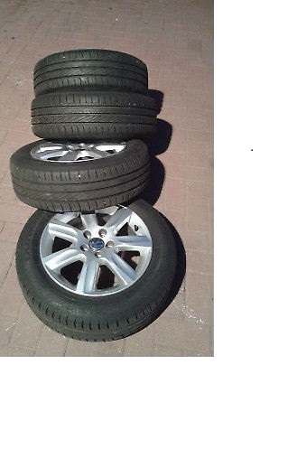 Volkswagen Polo 6 mags and tyres 15inch