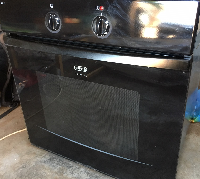 Defy 600C Slimline hob and oven