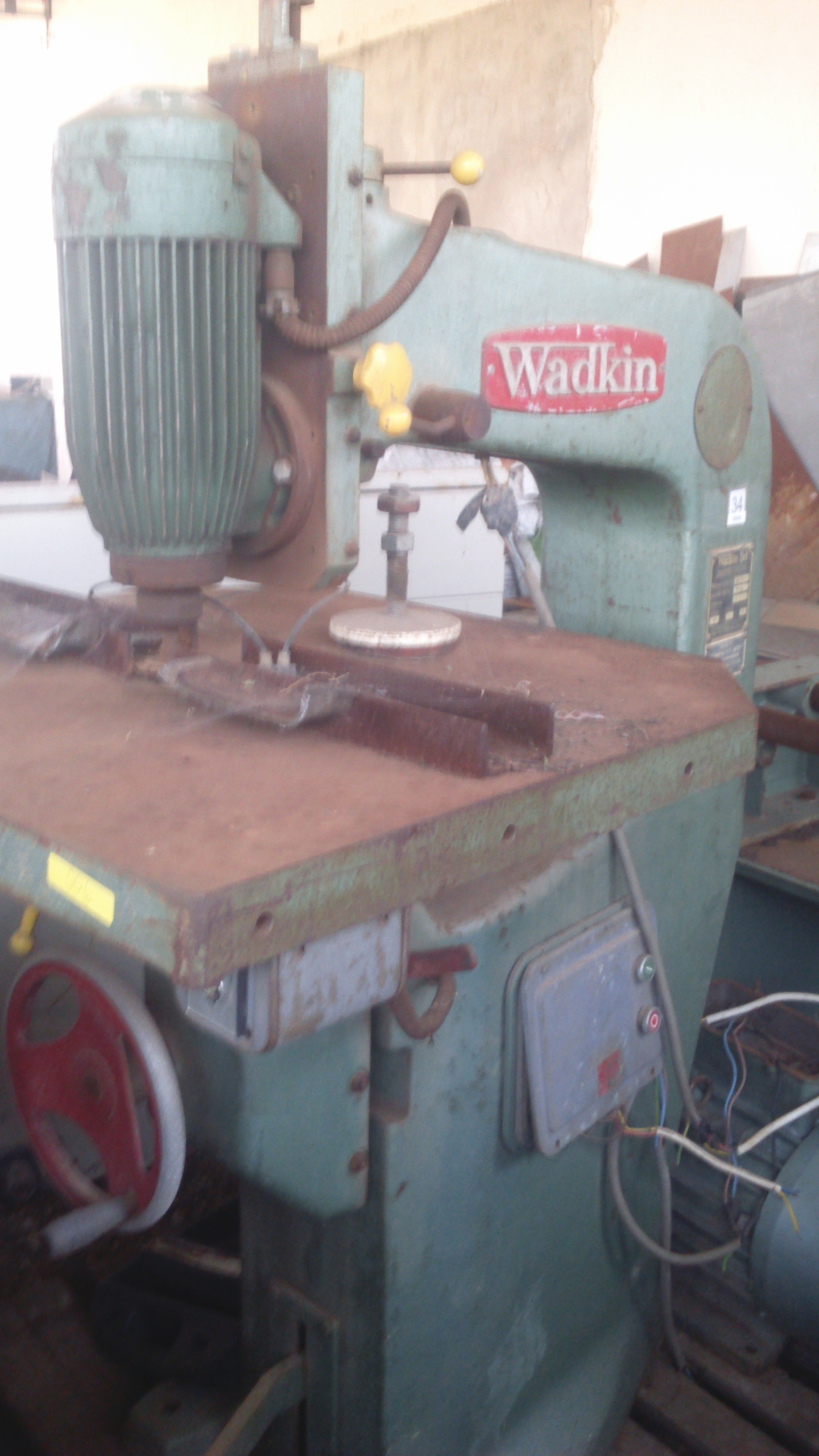 Watkins overhead spindle for sale