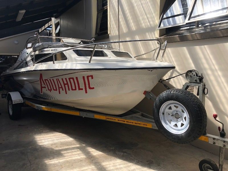 186 Interceptor with Johnson 115HP Motor in Immaculate Condition