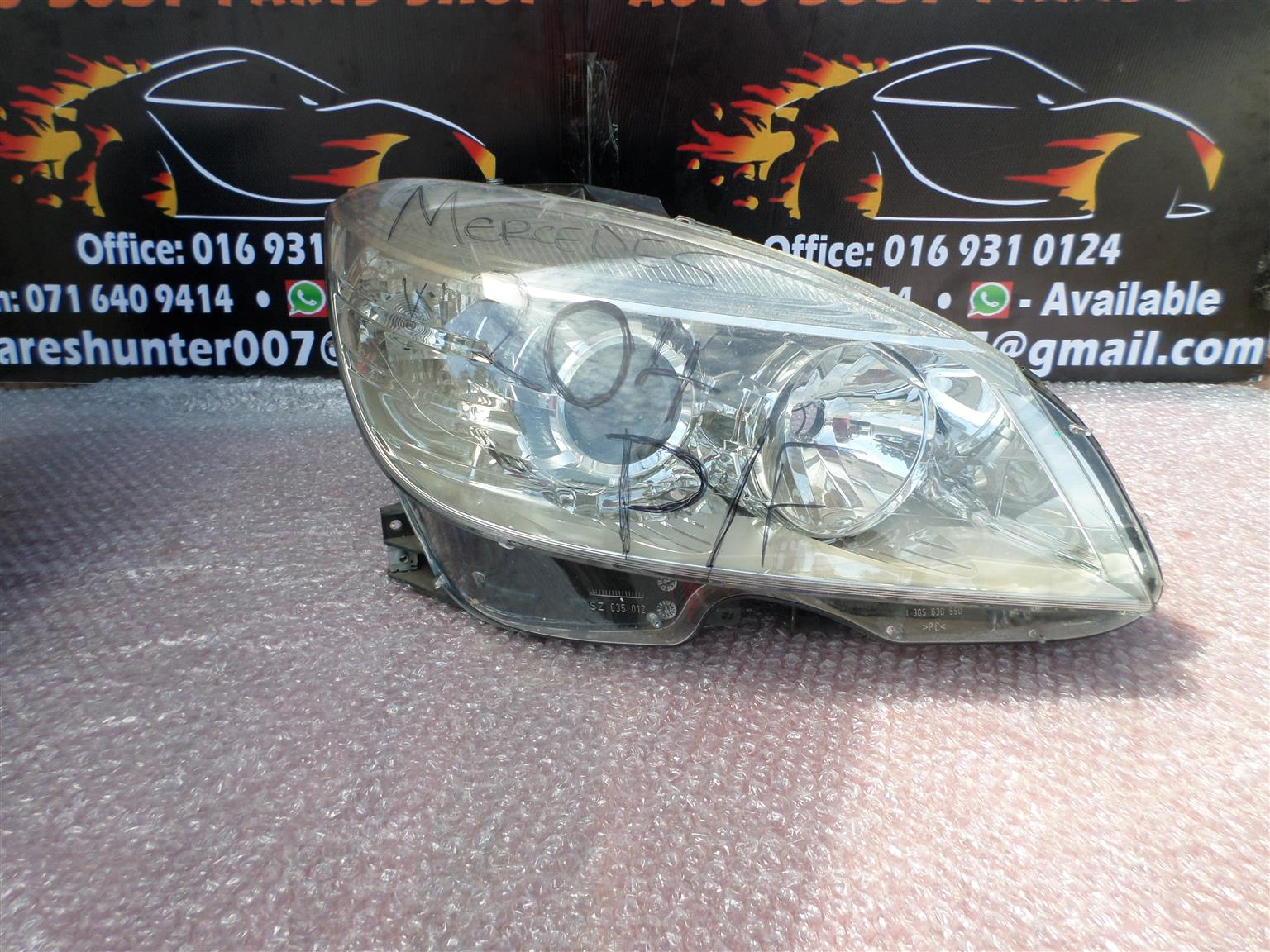 Mercedes W204 C Class Pre Face Headlights for sale | Junk Mail