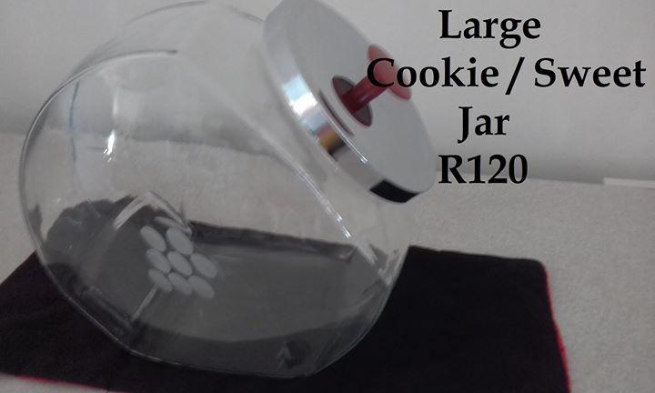 Large cookie or sweet jar