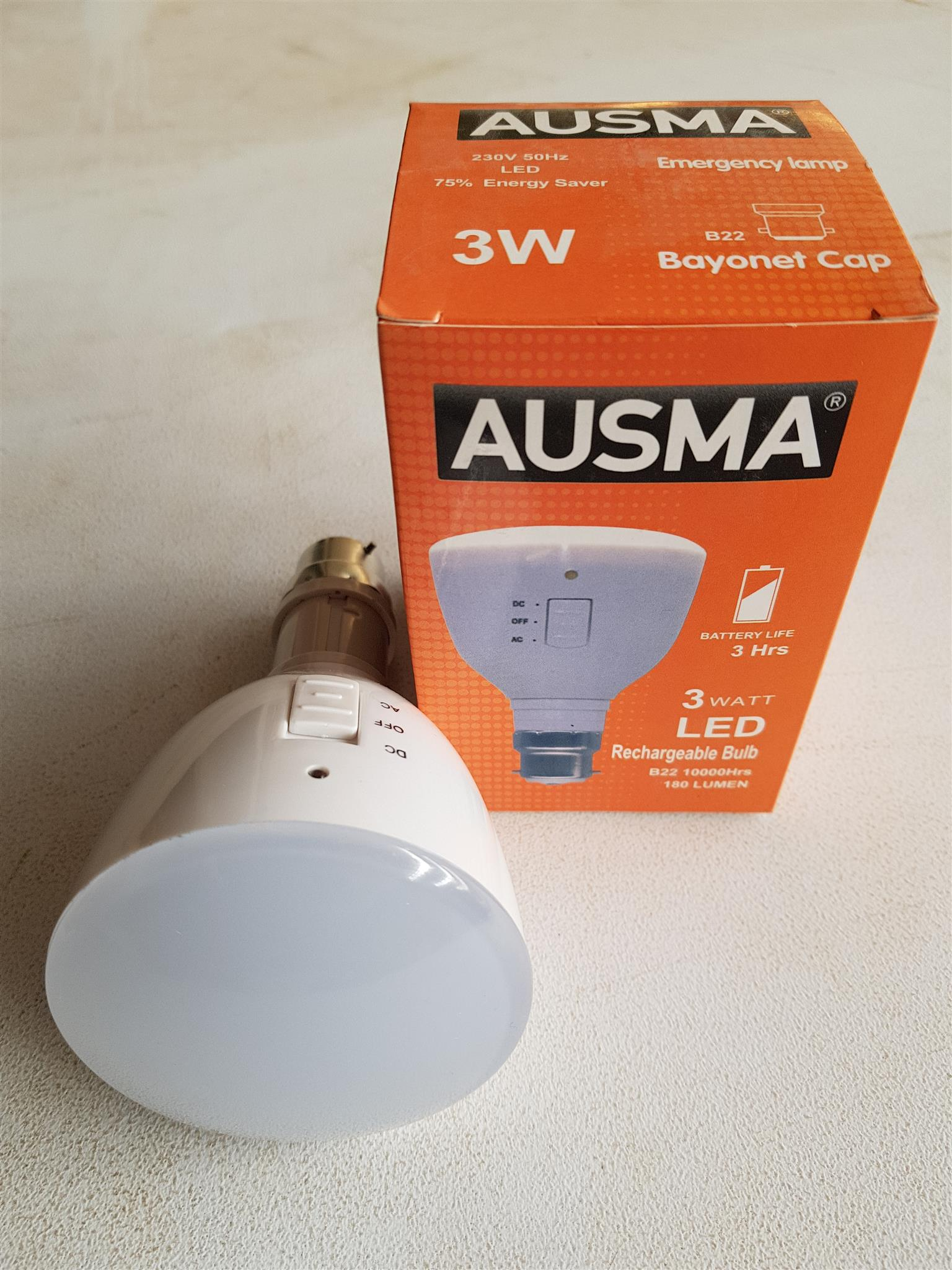 LED Rechargeable Bulbs