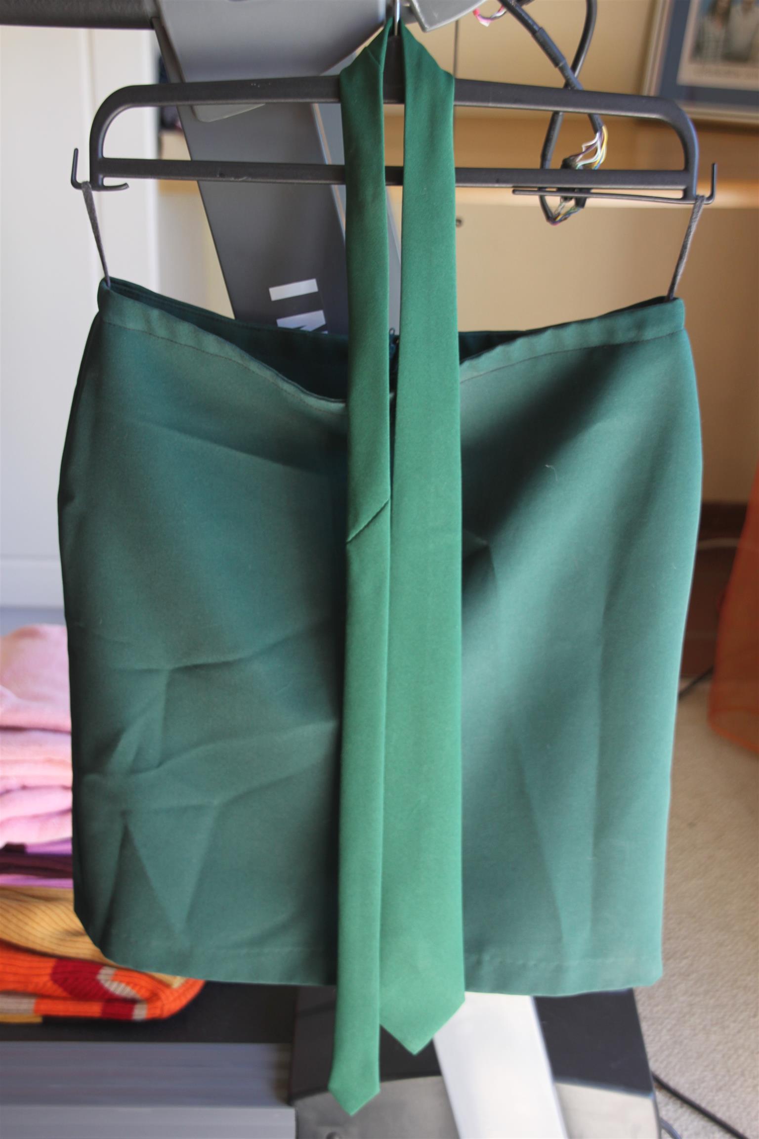 EUNICE Skirt & Tie