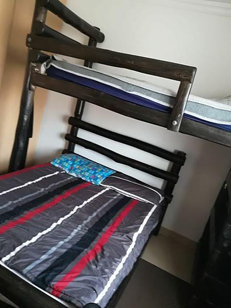 Tri bunk bed