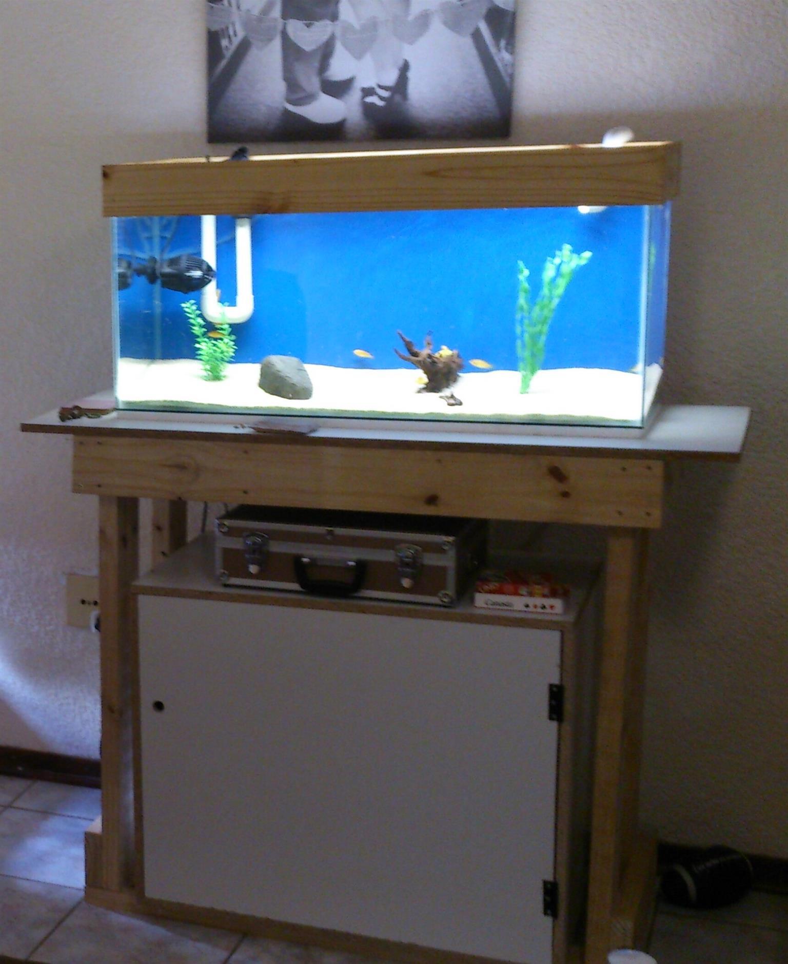 Aquarium fish tank complete system